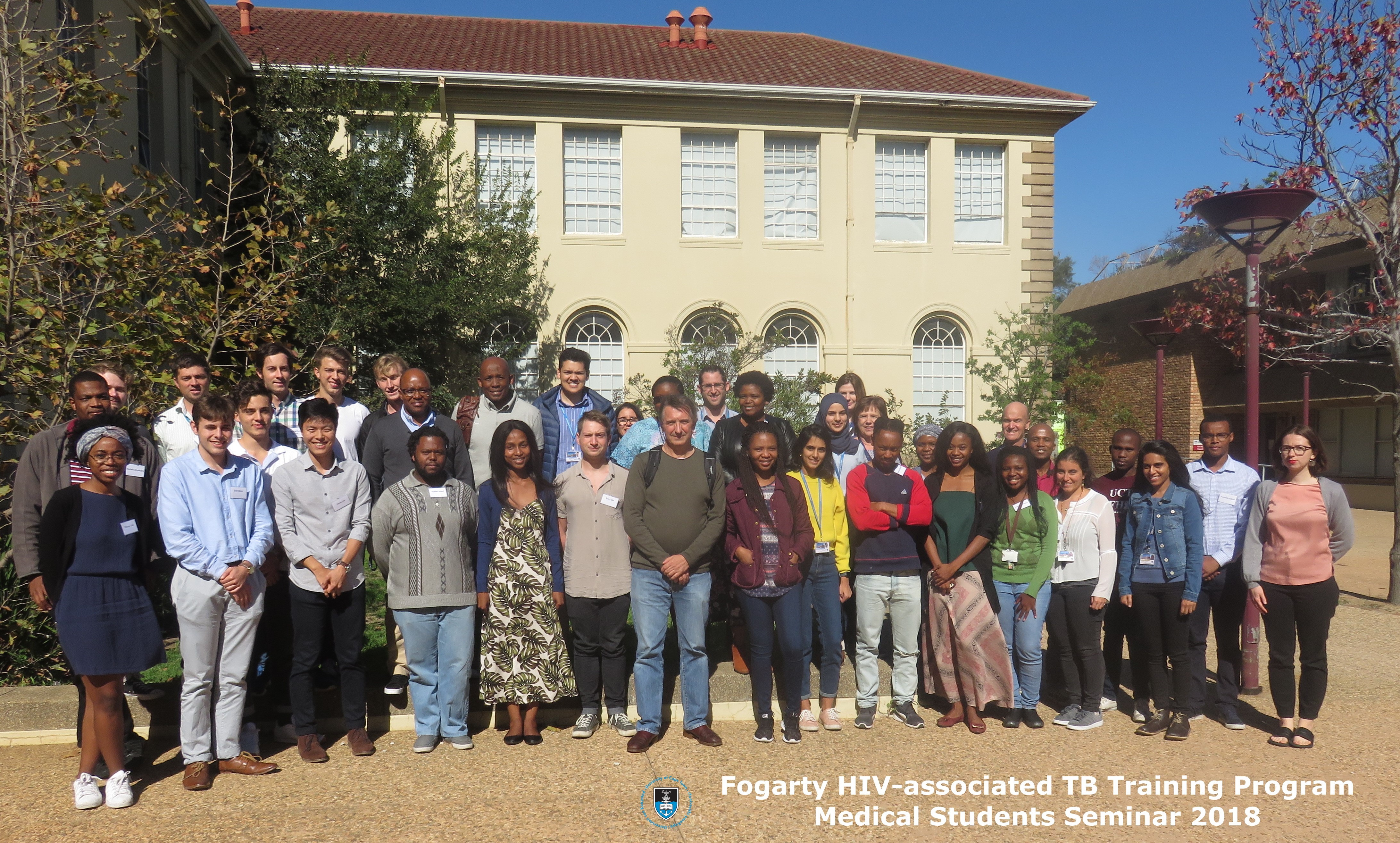 UCT medical students at the 2018 HATTP seminar
