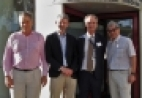 Image of Prof. Tobias Bonhoeffer, Prof. Graham Fieggen, Prof. Robert J Wilkinson, and Dr Michael Chew